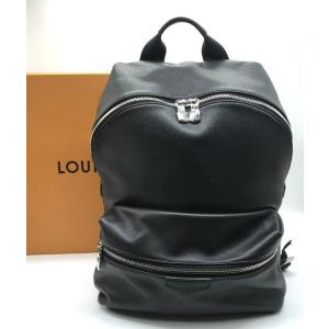ルイ・ヴィトン ディスカバリーバックパック M33450 レザーバッグ A4収納可 箱付き 保存袋 男女兼用 ノワール LOUISVUITTON 鞄 B6046◆|sunstep