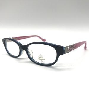 ヴィヴィアンウエストウッド メガネフレーム 眼鏡 VW-7037 伊達 レンズ交換対応 ケース付き 未使用 Vivienne Westwood 服飾小物 B6103◆S|sunstep