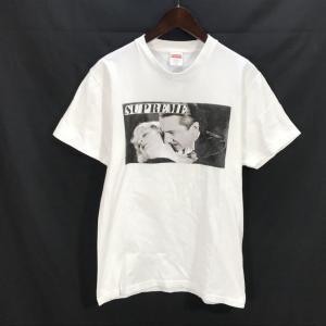 シュプリーム Bela Lugosi Tee 19SS ベラ ルゴシ ヴァンパイア プリント 半袖 Tシャツ メンズ Sサイズ ホワイト Supreme トップス A6458◆ sunstep