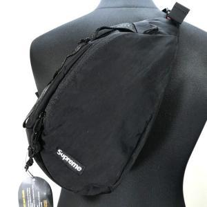 シュプリーム Sling Bag スリングバッグ 20AW ボディバッグ CORDURA 半タグ 袋付き 美品 メンズ  ブラック Supreme 鞄 B6249◆|sunstep