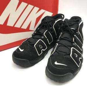 ナイキ AIR MORK UPTEMPO 414962-002 スニーカー シューズ アップテンポ 箱付き メンズ 29cm ブラック NIKE 靴 B6549◆|sunstep