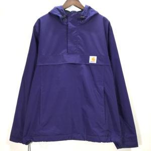カーハート Nimbus Pullover ジャケット プルオーバー アノラックパーカー メンズ Lサイズ パープル Carhartt WIP トップス A6687◆S|sunstep