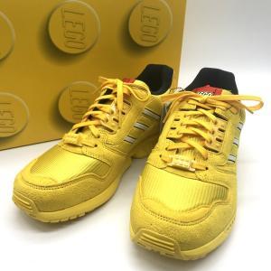 アディダス ZX 8000 LEGO FY7081 スニーカー シューズ レゴ コラボ 箱付き タグ付き 新品同様 メンズ 27.5cm イエロー adidas 靴 B6953◆|sunstep