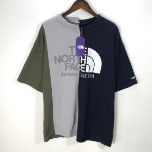 ノースフェイス ナナミカ nanamica Asymmetry Logo Tee NT3916N アシメトリーTシャツ ヴィンテージ 新品同様 メンズ Sサイズ THE NORTH FACE トップス A7135◆|sunstep