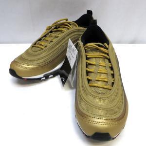 ナイキ エアマックス 97 OG QS 884421-700 スニーカー シューズ AIR MAX 97 未使用品 タグ付き メンズ 26.5cm メタリックゴールド NIKE 靴 WMF0387☆ sunstep