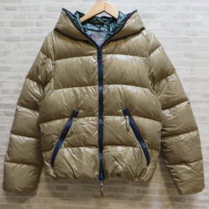 デュベティカ ダウンジャケット ダウンパーカー アウター ジャケット ブルガリア製 無地 冬物 フード付 メンズ Sサイズ DUVETICA 衣類 W4167D☆|sunstep