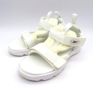 リーボック フューリーライト サンダル ストラップ アウトドア ビーチ 軽量 白 夏物 FURYLITE SANDAL 24.5cm ホワイト Reebok 靴 W5006☆|sunstep