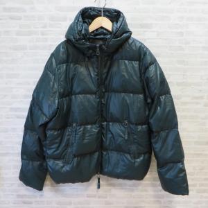 デュベティカ ダウンジャケット ダブルジップ アウター 防寒 ジャンパー アウトドア メンズ 46 グリーン DUVETICA 衣類 W3975-D☆|sunstep