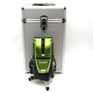 ハイコーキ レーザー墨出し器 UG25MG J 未使用品 グリーンレーザー 受光器付 レーザーレベル 墨付け 大工道具 DIY 日立工機 HiKOKI 電動工具 W4416D☆ sunstep