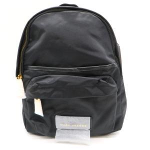 マークジェイコブス M0013945 NYLON VARSITY MINI BACKPACK バーシティ ミニ バックパック 未使用品 バッグ リュックサック ブラック MARC JACOBS 鞄 W4558D☆ sunstep