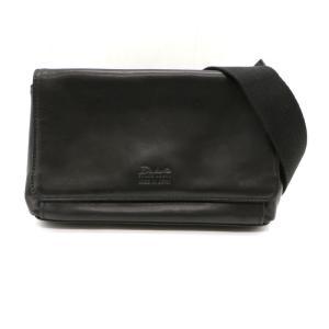ダコタブラックレーベル アクソリオ 2wayバッグ ミニショルダーバッグ クラッチバッグ 本革 セカンドバッグ ブラック Dakota Black Label 鞄  W4511D☆ sunstep