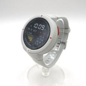 アマズフィット スマートウォッチ A1811 美品 Alexa内蔵 GPSプラス GLONASS 一日中心拍数と活動量追跡 Ip68防水 Amazfit Verge 時計W5374☆|sunstep