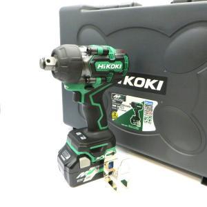ハイコーキ コードレスインパクトレンチ WR36DD 2XPS 未使用品 電池2個付 36V Bluetooth DIY おうち時間 日曜大工 現場仕事 Hikoki 電動工具 W5073☆ sunstep