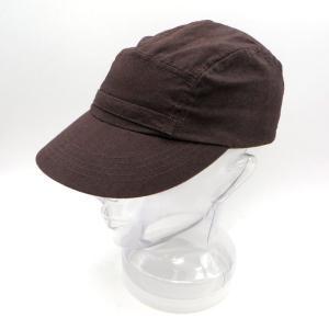 オールドジョー ワークキャップ 201OJ-HT02 茶 無地 FRONT BELTED WORK CAP oldjoe ワーカーキャップ 7 1/4 ブラウン OLD JOE 帽子 W5561☆ sunstep