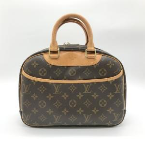 ルイヴィトン トゥルーヴィル モノグラム M42228 ハンドバッグ MI0074 鞄 バッグ 男女兼用 ブラウン LOUIS VUITTON 服飾 E1191★|sunstep