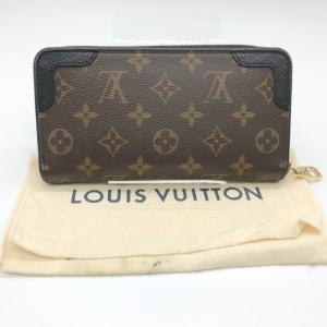 ルイ ヴィトン ジッピー ウォレット レティーロ M61855 長財布 ファスナー 財布 袋 モノグラムライン LOUIS VUITTON 服飾 E1241★|sunstep