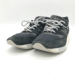 ニューバランス M998 M998NJ スニーカー 靴 シューズ ローカット USA製 メンズ 28cm ブラック New Balance 服飾 E1382★|sunstep