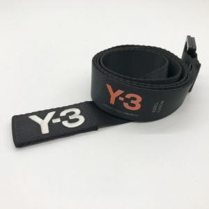 ワイスリー ベルト ロゴ 刺繍 adidas YOHJI YAMAMOTO アディダス ヨウジヤマモト ネコポス メンズ Lサイズ ブラック Y-3 服飾 E1490★|sunstep
