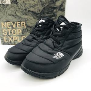 ノースフェイス ヌプシトラクションチャッカライトウォータープルーフ nf51581 靴 メンズ 26cm ブラック THE NORTH FACE 服飾 E1894★|sunstep