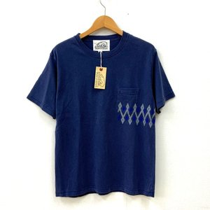 ビーアンキシャス Tシャツ 半袖 胸ポケット カジュアル 未使用 タグ付き 送料220円 メンズ Sサイズ ネイビー beaxious トップスN14968-T4●|sunstep
