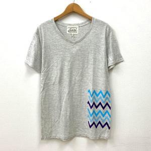ビーアンキシャス Tシャツ 半袖 ワンポイント 未使用 新品同様 タグ付き メンズ 送料220円 Sサイズ グレー beaxious 衣類 N14971-T4●|sunstep