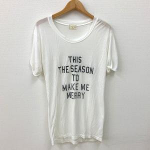 アングリッド Tシャツ 半袖 カットソー トップス ロゴ 白 レディース フリーサイズ  Ungrid 衣類 N14989-T4●|sunstep