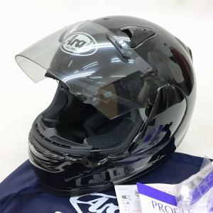 Arai Profile フルフェイスヘルメット 内装洗濯 除菌消臭済み PSCあり  XLサイズ 61-62cm グラスブラック アライ バイク用品 N15527H● sunstep