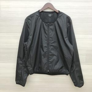 バギー ナイロンジャケット アウター 美品 ジャンパー 薄手 軽い バイクウェア 防寒 メンズ Lサイズ ブラック Buggy インナー N15623●|sunstep