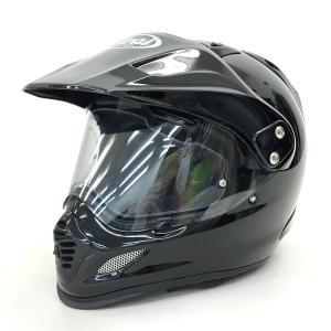 Arai TOUR-CROSS3 ツアークロス3 フルフェイスヘルメット オフロード モトクロス 内装洗濯 Lサイズ 59-60cm グラスブラック アライ バイク用品 N15739H● sunstep