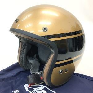 Arai Classic MOD バンデージ ジェットヘルメット 除菌消臭済み 2018年製 袋付き Lサイズ 59-60cm ブロンズ ゴールド×ブラック アライ バイク用品 N15801H● sunstep