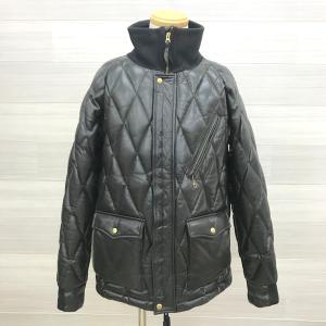 WESTRIDE Racing down jacket ホースハイド ダウンジャケット バイクウェア メンズ Lサイズ ブラック ウエストライド アウター N16104● sunstep