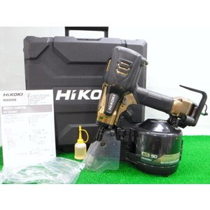 ハイコーキ 高圧ロール釘打機 NV90HR2 S 未使用 90mm ハイゴールド コイルネイラ スーパーネイラ 高圧釘打機 日立工機 HiKOKI ≡ DT556 sunstep