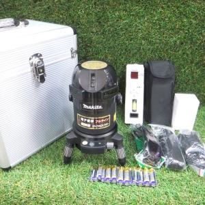 マキタ 屋内屋外兼用墨出し器 SK503PXZ 未使用 自動追尾 自動整準 高輝度 レーザー ラインポイント フルライン 受光器 makita ≡DT829|sunstep