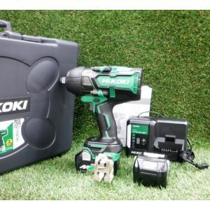 ハイコーキ コードレスインパクトレンチ WR36DA 2XP 未使用 36V マルチボルト 充電式 バッテリー2個 フルセット 緑 日立 HiKOKI ≡DT613 sunstep