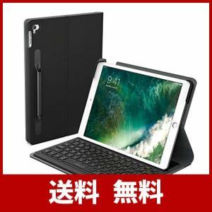 iPad Pro 10.5 キーボード Smart Connector接続 充電不要 ケース付け A...