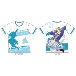 「ラブライブ!サンシャイン!!」 ツーリングTシャツ 【渡辺 曜Ver.】 sunvolt-store