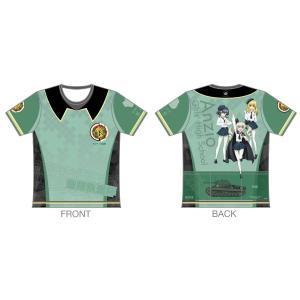 「ガールズ&パンツァー 最終章」 ツーリングTシャツ 【アンツィオ高校Ver.】 sunvolt-store