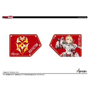 《予約販売分》Fate/Apocrypha ゼッケンプレート 赤の陣営Ver.|sunvolt-store