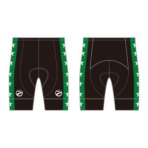 SUNVOLT 競輪レーサーパンツ A級緑(裾止め無し)|sunvolt-store