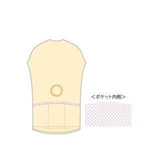 リラックマ サイクルジャージ(コリラックマ)|sunvolt-store|02