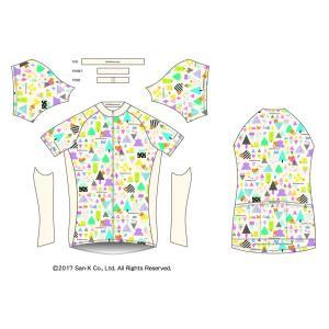 リラックマサイクルジャージ(かくれんぼ・A)女性用|sunvolt-store