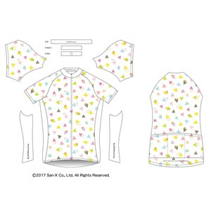 リラックマサイクルジャージ(かくれんぼ・B)女性用|sunvolt-store