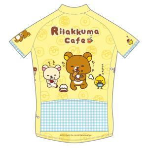 《期間限定・受注生産ご予約》リラックマ サイクルジャージ(リラックマカフェ)|sunvolt-store|02