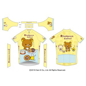 《期間限定・受注生産ご予約》リラックマ サイクルジャージ(リラックマカフェ)|sunvolt-store|03