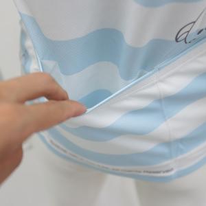 リラックマ バックポケットTシャツ(しましまエブリデイ)|sunvolt-store|04
