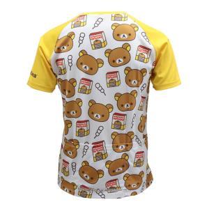 【予約・10月下旬ごろ入荷予定】リラックマ バックポケットTシャツ(ちらし柄)|sunvolt-store|02