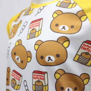 【予約・10月下旬ごろ入荷予定】リラックマ バックポケットTシャツ(ちらし柄)|sunvolt-store|04