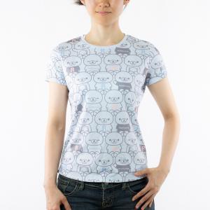 リラックマ アクティビティTシャツ (ブルー)|sunvolt-store