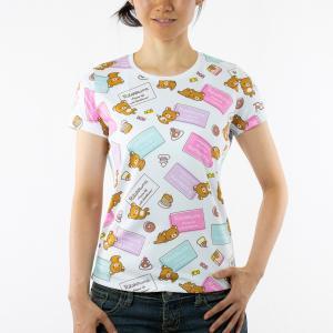 《予約販売分》リラックマ アクティビティTシャツ (ホットケーキ) sunvolt-store