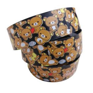 リラックマ バーテープセット(リラックマがいっぱい・ブラック)|sunvolt-store